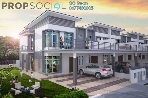 For Sale Terrace at Bandar Putera Indah, Batu Pahat Leasehold Unfurnished 4R/4B 455.0千
