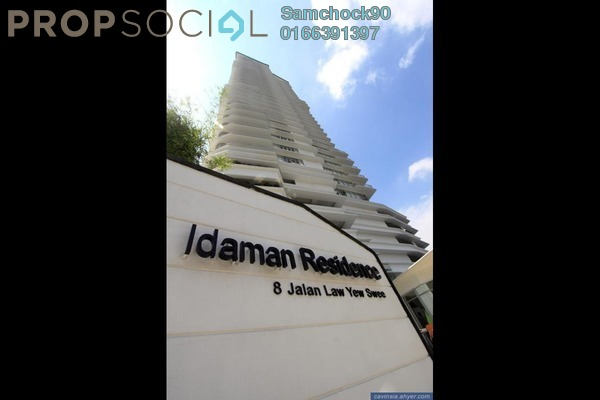 For Sale Condominium at Idaman Residence, KLCC Freehold Fully Furnished 4R/4B 1.45m