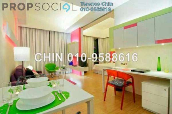 For Rent SoHo/Studio at Swiss Garden Residences, Pudu Freehold Fully Furnished 1R/1B 3.5k