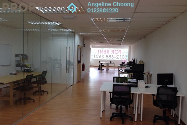 For Rent Office at Rampai Business Park, Setapak Leasehold Semi Furnished 0R/0B 1.8k