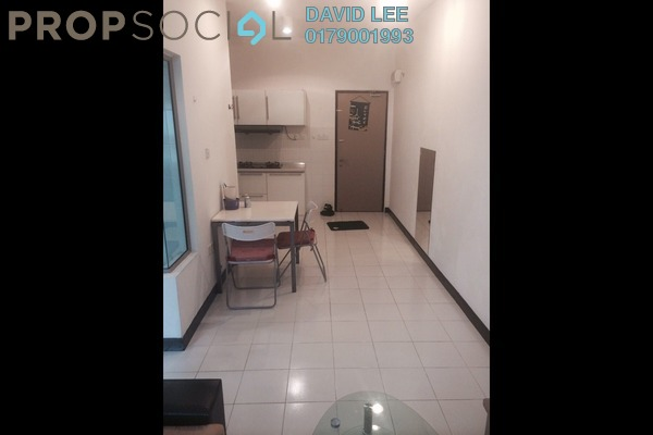 For Rent Serviced Residence at Ritze Perdana 1, Damansara Perdana Leasehold Fully Furnished 1R/1B 1.2k