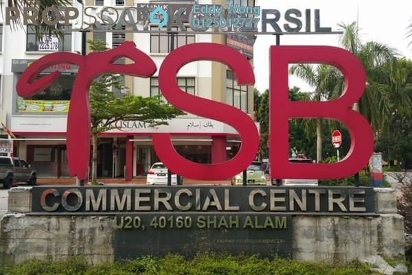 For Sale Shop at TSB Commercial Centre, Sungai Buloh Freehold Unfurnished 0R/0B 1.88m