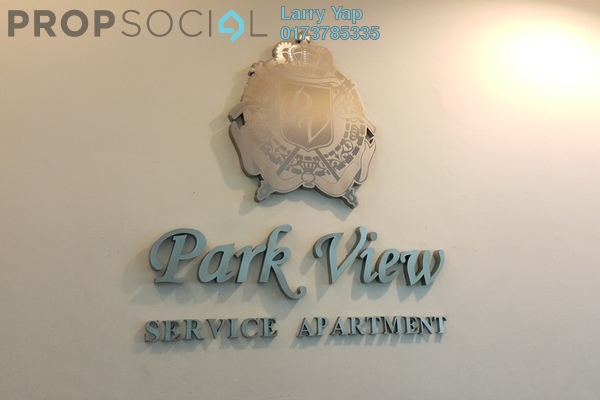 For Sale Serviced Residence at Park View, KLCC Freehold Fully Furnished 1R/1B 567k