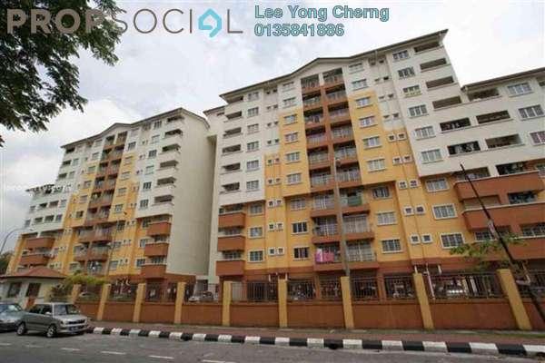 For Sale Condominium at Serdang Villa Apartment, Seri Kembangan Freehold Unfurnished 3R/3B 360k