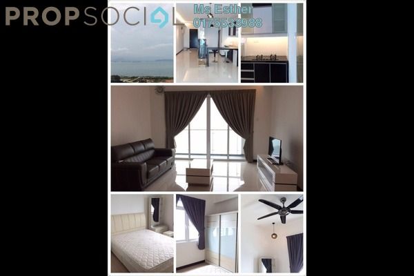 For Sale Condominium at Vertiq, Gelugor Freehold Unfurnished 3R/2B 870k