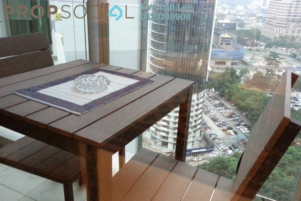 For Rent Condominium at Marc Service Residence, KLCC Freehold Fully Furnished 1R/1B 2.5k
