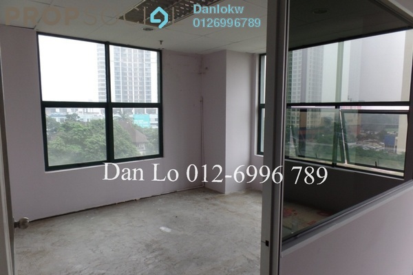 For Rent Office at Megan Avenue 1, KLCC Freehold Semi Furnished 1R/1B 3.8k