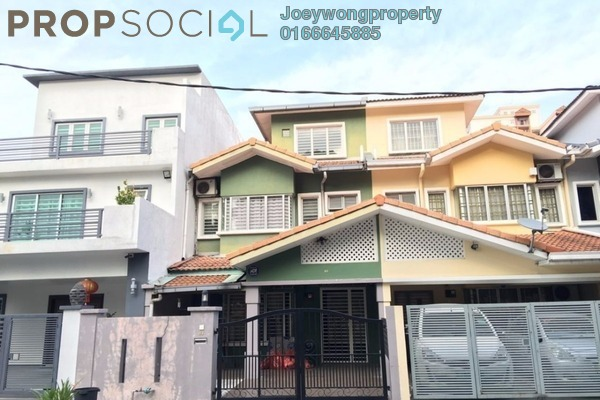 For Sale Terrace at Kelana Idaman, Kelana Jaya Leasehold Semi Furnished 4R/3B 850Ribu