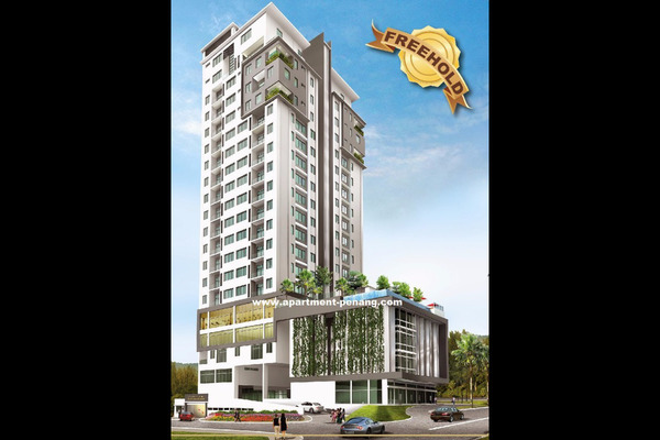 For Sale Condominium at D'Mansion, Gelugor Freehold Unfurnished 4R/2B 995k