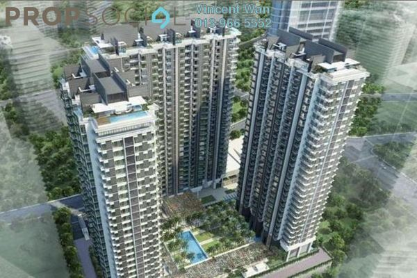 For Sale Condominium at St Mary Residences, KLCC Freehold Semi Furnished 3R/3B 1m