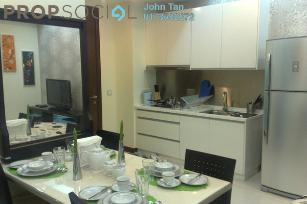 For Sale Serviced Residence at Hampshire Residences, KLCC Freehold Fully Furnished 1R/1B 970k
