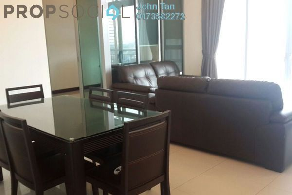 For Rent Serviced Residence at Hampshire Residences, KLCC Freehold Fully Furnished 2R/2B 5.5k