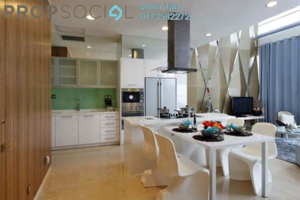 For Sale Serviced Residence at Idaman Residence, KLCC Freehold Semi Furnished 2R/2B 1.39m