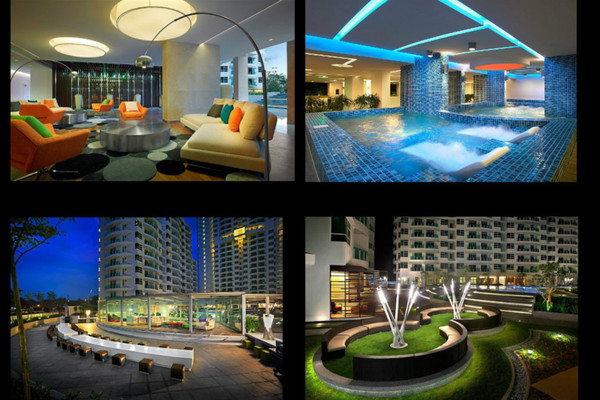 For Sale Condominium at The Oasis, Gelugor Leasehold Unfurnished 3R/4B 530k