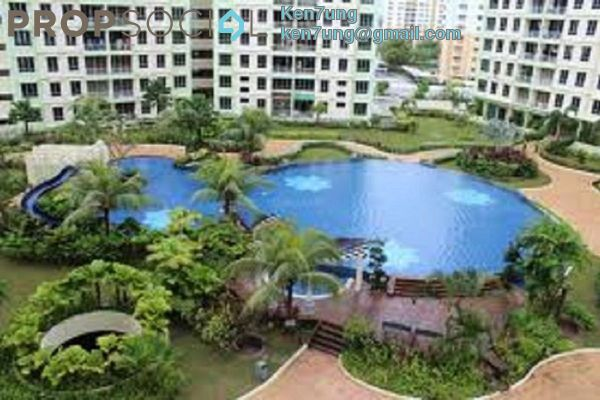 For Rent Condominium at Putra Place, Bayan Indah Leasehold Fully Furnished 3R/2B 1.55k