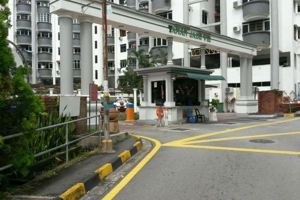 For Sale Condominium at Jade View, Bukit Gambier Freehold Semi Furnished 3R/2B 328k