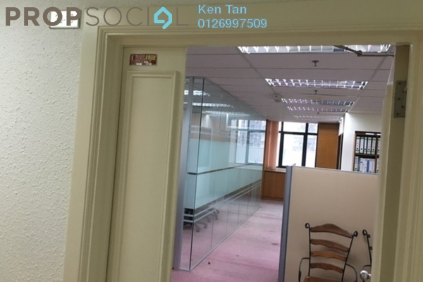 For Rent Office at Wisma UOA II, KLCC Freehold Semi Furnished 0R/0B 3.02k