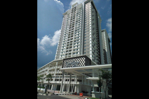 For Sale Condominium at Gardens Ville, Sungai Ara Freehold Unfurnished 3R/2B 578k