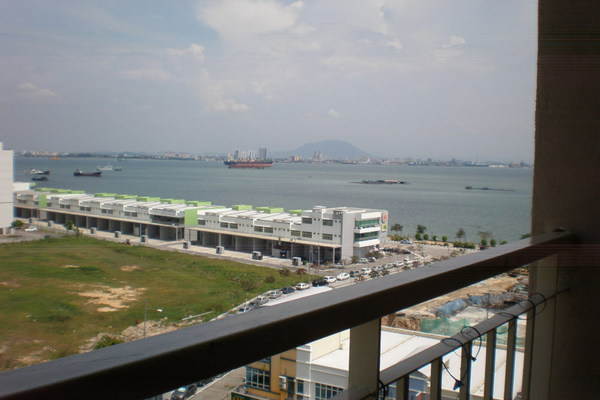 For Rent Condominium at Ocean View Residences, Butterworth Freehold Fully Furnished 3R/2B 1.5k