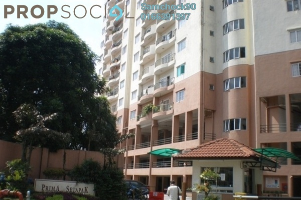 For Rent Condominium at Prima Setapak I, Setapak Leasehold Semi Furnished 3R/2B 1.8k