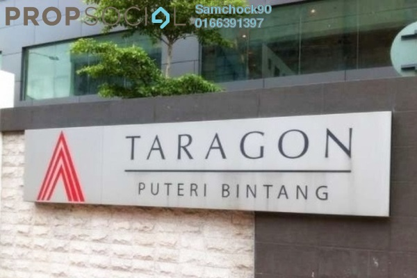 For Rent Condominium at Taragon Puteri Bintang, Pudu Freehold Fully Furnished 3R/3B 3k