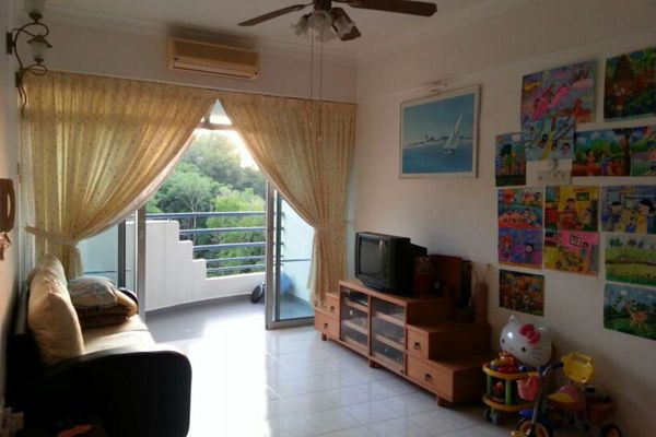 For Rent Condominium at U-Garden, Gelugor Freehold Fully Furnished 2R/1B 1.1k