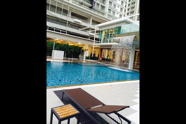 For Sale Condominium at Gardens Ville, Sungai Ara Freehold Semi Furnished 3R/2B 560k