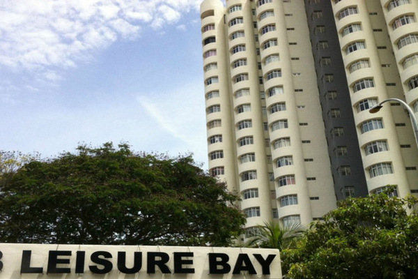 For Sale Condominium at Leisure Bay, Tanjung Tokong Freehold Unfurnished 4R/2B 850k
