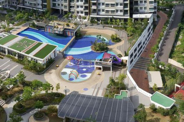 For Sale Condominium at One Imperial, Sungai Ara Freehold Unfurnished 4R/2B 610k