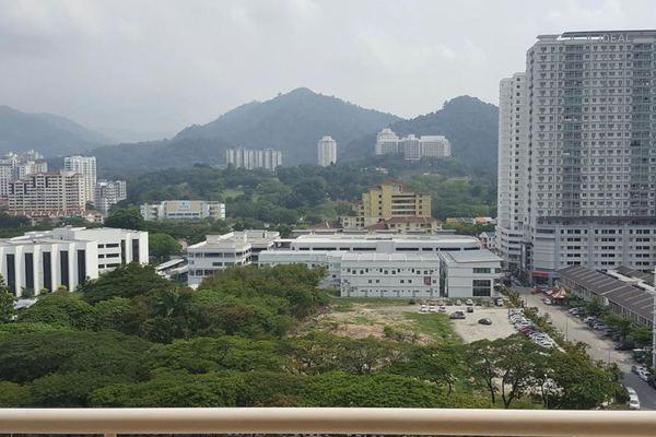 For Rent Condominium at D'Piazza Condominium, Bayan Baru Freehold Semi Furnished 3R/2B 1.5k