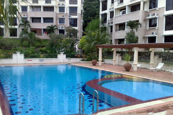 For Sale Condominium at Sunrise Garden, Sungai Ara Freehold Unfurnished 3R/2B 580k