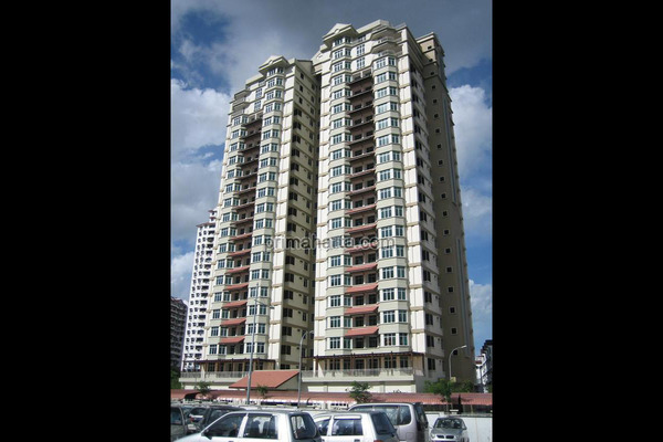 For Sale Condominium at Ixora Heights, Sungai Nibong Freehold Unfurnished 3R/2B 580k