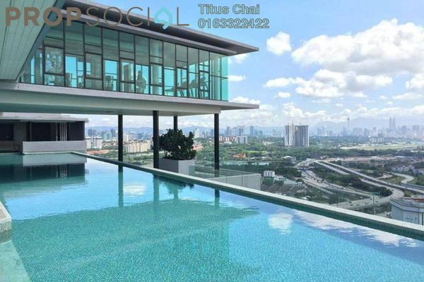 For Rent Condominium at The Leafz, Sungai Besi Freehold Semi Furnished 3R/2B 2.2k