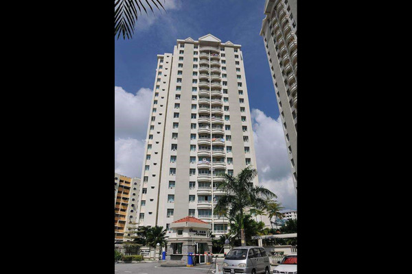 For Rent Condominium at Desa Airmas, Sungai Dua  Semi Furnished 3R/2B 1.3k