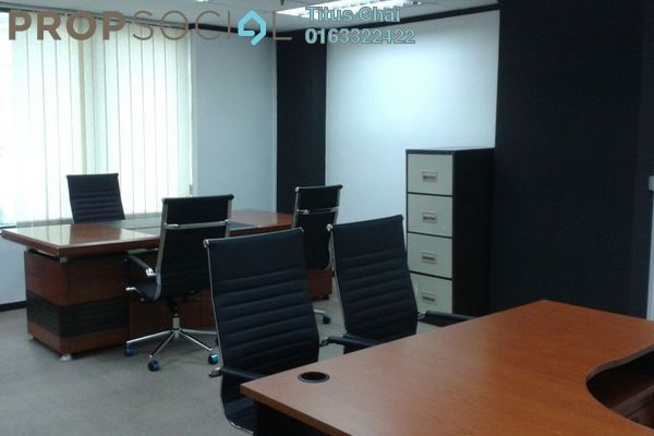 For Rent Office at Megan Avenue 1, KLCC Freehold Fully Furnished 0R/0B 4.3k