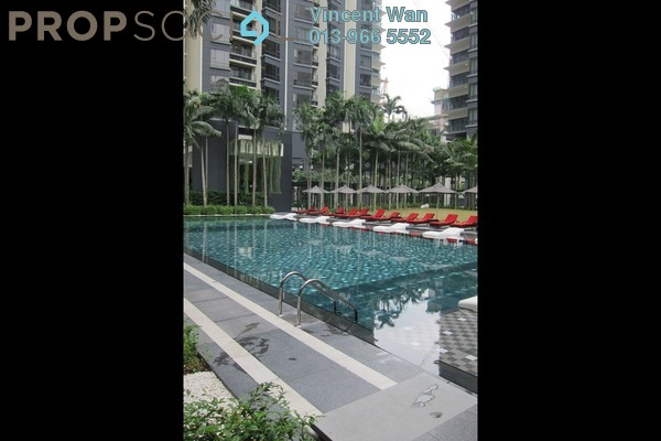 For Rent Condominium at St Mary Residences, KLCC Freehold Semi Furnished 3R/2B 6k