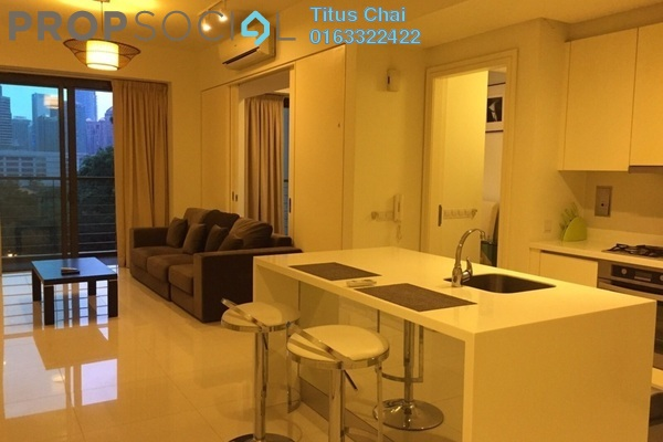 For Sale Condominium at Hampshire Place, KLCC Freehold Fully Furnished 1R/0B 1m