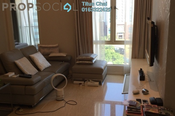 For Rent Condominium at 231 TR, KLCC Freehold Fully Furnished 2R/1B 3k