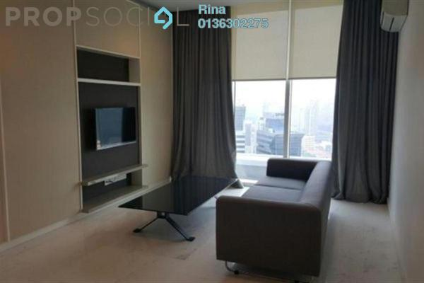 For Rent Serviced Residence at Platinum Suites, KLCC Freehold Fully Furnished 2R/2B 5.5k