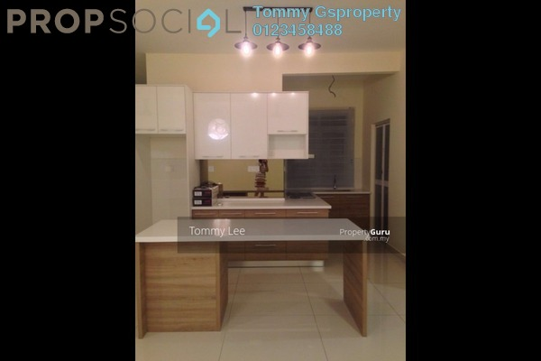 For Rent Condominium at Saville Residence, Old Klang Road Freehold Semi Furnished 3R/2B 2.9k