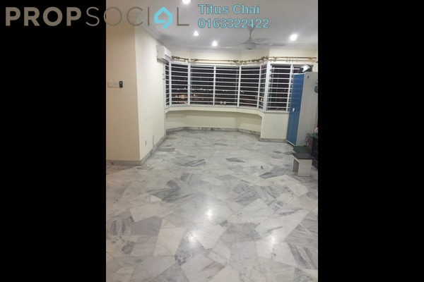 For Rent Condominium at De Tropicana, Kuchai Lama Leasehold Semi Furnished 3R/2B 1.5k