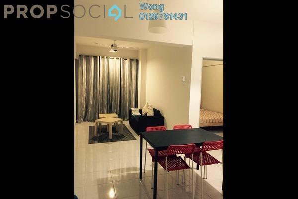 For Rent Serviced Residence at Main Place Residence, UEP Subang Jaya Freehold Semi Furnished 1R/1B 1.5k