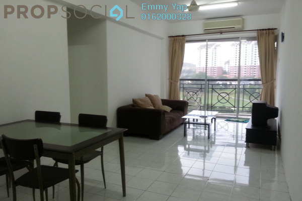 For Sale Condominium at Forest Green, Bandar Sungai Long Freehold Semi Furnished 3R/2B 415k
