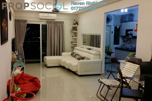 For Sale Condominium at First Residence, Kepong Leasehold Semi Furnished 3R/2B 630k