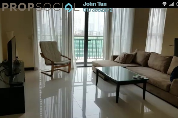 For Rent Condominium at Hampshire Residences, KLCC Freehold Fully Furnished 2R/2B 5k