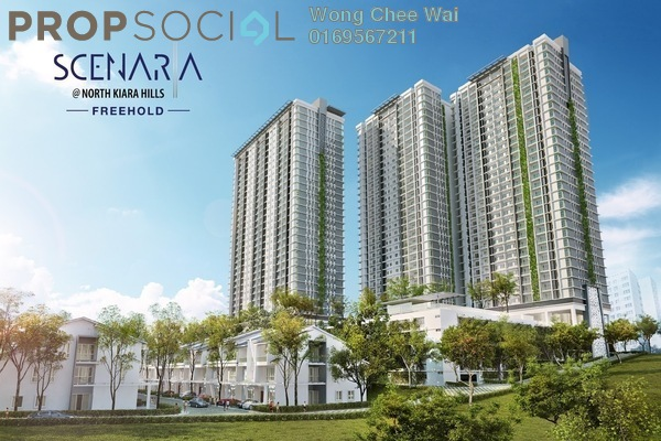 For Sale Condominium at Scenaria, Segambut Freehold Unfurnished 3R/3B 730k