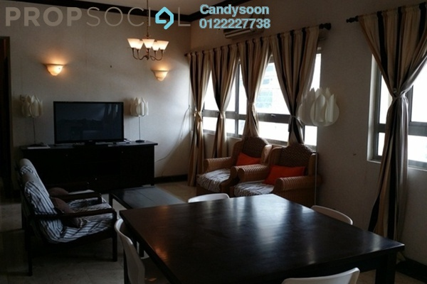 For Rent Serviced Residence at Crown Regency, KLCC Freehold Fully Furnished 3R/3B 4k