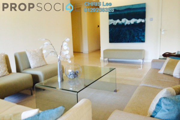 For Rent Condominium at Tiffani Kiara, Mont Kiara Freehold Fully Furnished 4R/5B 7.5k
