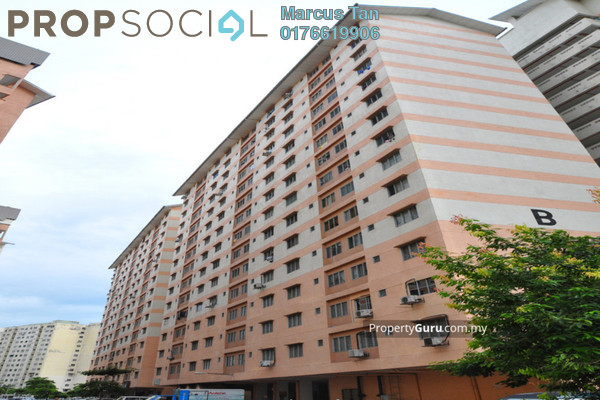 For Sale Apartment at Mutiara Magna, Kepong Leasehold Unfurnished 3R/2B 150k