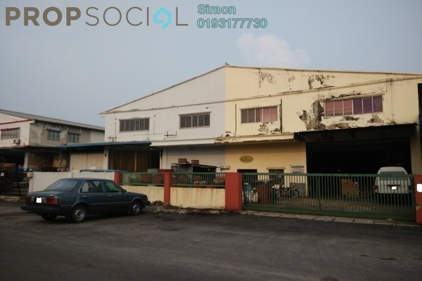For Sale Factory at Taman Meru, Klang Freehold Semi Furnished 0R/0B 3.3m